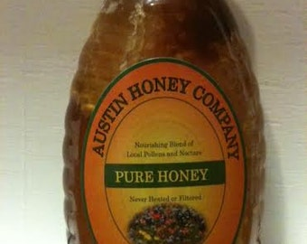 12 of our 1 lb. Honey with Comb in glass jar