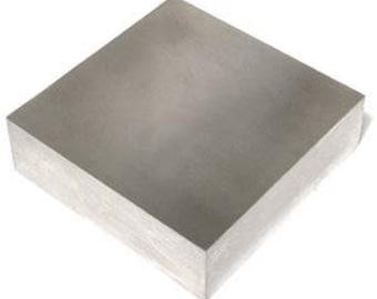 """4.5"""" Bench Block, Stamping Block, Bench Block, Metal Stamping, Stamping Bench, Steel Bench Block, Metal Stamping Supplies, INV2000"""