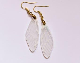 Shrink Plastic Dragonfly Earrings