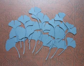 Die Cut Ginkgo Leaves (649) 2c