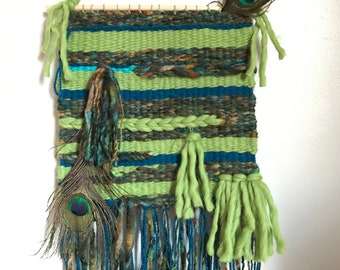 FreeStyle Handwoven Wool Wall Hanging