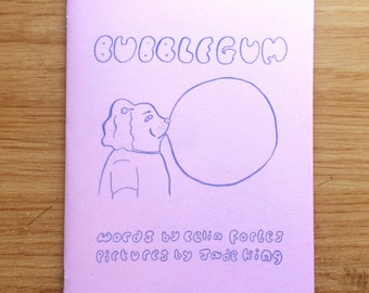 Bubblegum, mini-comic zine illustration drawing handmade DIY