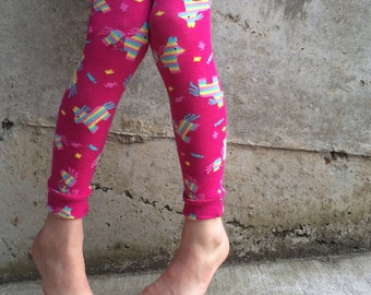Piñata Party Leg or Arm Warmers - Sizes for Baby, Toddler, Kid, Tween - Fun Leggings for Birthday or Shower Gift - Great for Boy or Girl