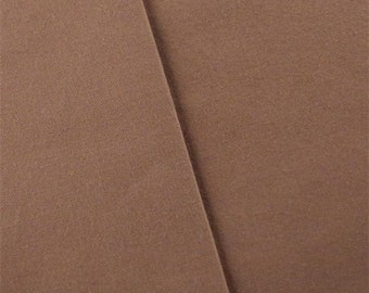 Sienna Brown Cotton Canvas Home Decorating Fabric, Fabric By The Yard