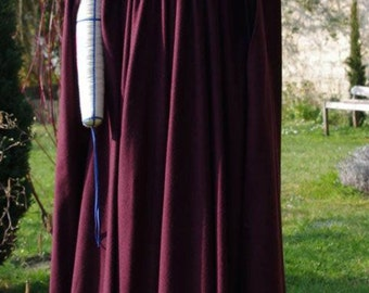 Historical costume cloak (model B) Medieval middle ages