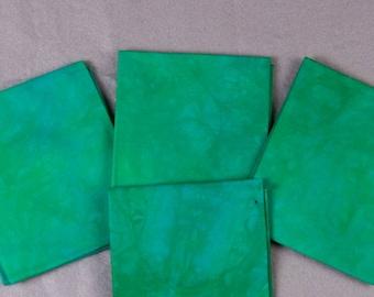 Gem Jade Hand-Dyed Quilting Cotton Fat Quarter