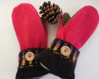 Wool mittens, sweater mittens, mittens, gloves, winter gloves, winter accessories, gift for her,gift for women,made in Michigan mittens,gift