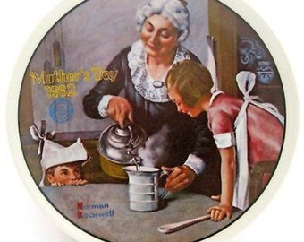 Norman Rockwell Mother's Day 1982