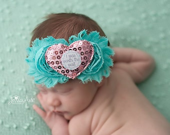 Newborn Headband, Newborn Headband Bow, Newborn Bow, Newborn Bow Headband, Newborn Girl Bow, Baby Girl Headband, Infant Headband, Infant Bow