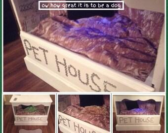 shabby chic pet house
