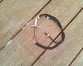 Sideways cross bracelet, ...