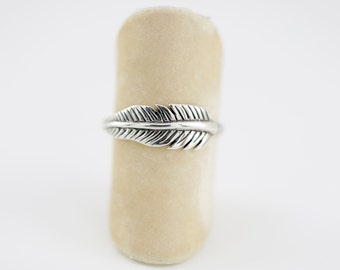 Feather Ring, Sterling Silver, Boho Jewelry, Boho Rings, Silver Feather Jewelry