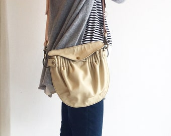 Crossbody Convertible Leather Bag- Leather Fanny Pack Bag- Leather Biking Bag- Festival Fanny Pack- Leather Hip Pouch