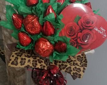Dozen Red Roses Valentine's day arrangement