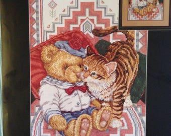 Janlynn Southwest Tabby Cat Counted Cross Stitch Kit 08-116