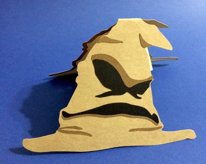 Harry Potter Sorting Hat Pop Up Card