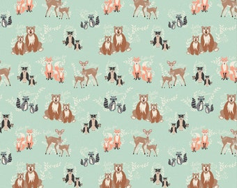 Oh, Hello Meadow - Hello, Bear//Bonnie Christine//Art Gallery Fabric//100% Quilters Cotton //You Choose the Length