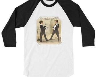 The Sweet Science (Boxing) - 3/4 sleeve raglan shirt