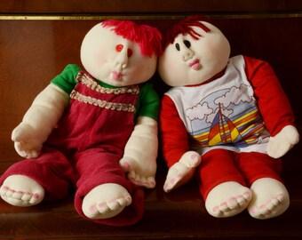 POUPEE sculptée. Grande poupée en peluche. Garçon avec POUPEE cheveux roux. Chambre décor poupée adorable à la main maison de poupée en jersey coton Decor adolescents