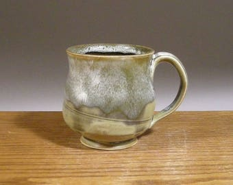 8 ounce, Coffee Mug, Stoneware, Handmade, Pottery Mug, Ceramic Coffee Mug , Beer or Tea