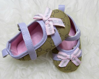Baby Girl Soft Sole Shoes