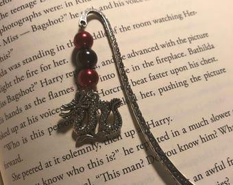 Metal bookmark // dog bookmark // anubis bookmark // dragon bookmark