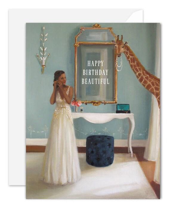 Happy Birthday Beautiful. SKU JH1132