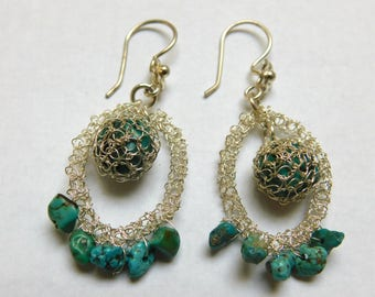 Turquoise Woven