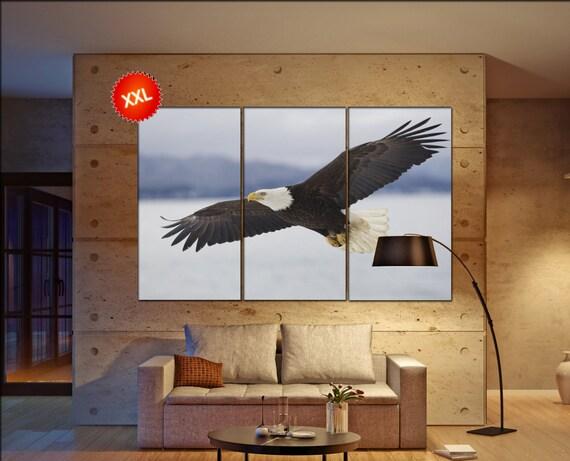 Eagle  canvas wall art Eagle wall decoration Eagle canvas wall art art Eagle large canvas wall art  wall decor