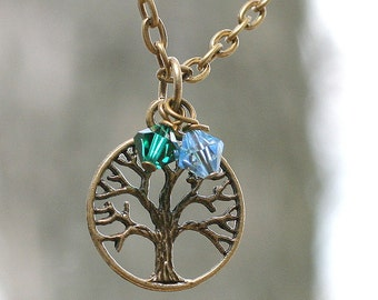 Fertility Necklace, Tree of Life, Infertility, Family, Remembrance Jewelry, gift from kids, Family tree, Mothers Jewelry, fertility wishes