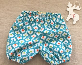 Baby girl bloomers Christmas outfit