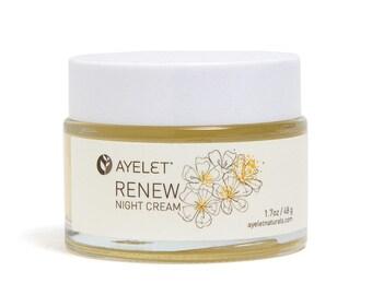 Natural Retinol Night Cream  Hyaluronic Acid Cream  Face Cream  Cell Renewing Cream  bakuchiol Moisture Cream