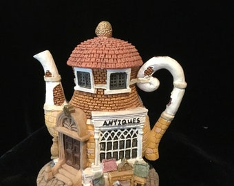 Home Town Teapots group of 6
