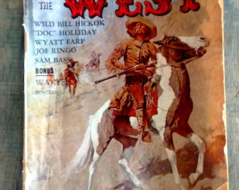 Gun Slingers of the West | Vintage Quarterly Magazine Gunslingers of the West 1966 with Wanted Posters
