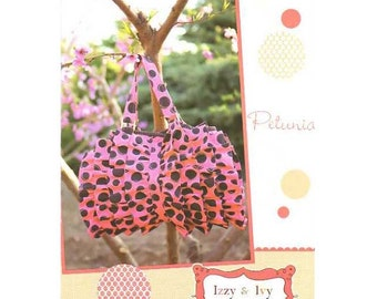 SALE Petunia Bag Pattern designed by Izzy & Ivy Designs