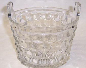 Fostoria Glass Crystal AMERICAN Elegant Glass 5 3/4 Inch Ice Tub
