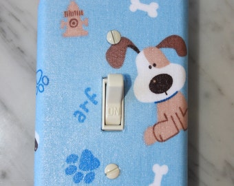 Love Dogs LIght Switch cover