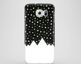 Snow Tops phone case / black and white phone case Samsung Galaxy S7, Samsung Galaxy S6, Samsung Galaxy S6 Edge, Samsung Galaxy S5