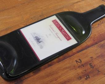 Wine Bottle Cheese Platter - Louis Martini Cabernet Spoon Rest