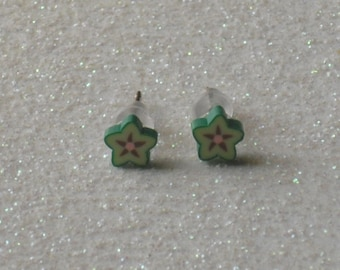 Teeny Tiny Star Fruit Stud Earrings