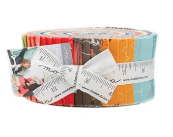 Creekside Jelly Roll by Sherri and Chelsi for Moda 37530