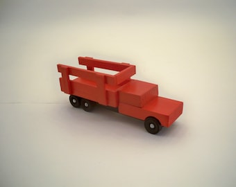 Toy Farm Truck,  A Toy For Kids, Wood Truck,Wood Toy Car,Wood Toy Truck, Classic Wood Toy, Classic wood toy Truck,