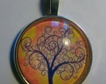 Tree of life pendant on 18inch chain