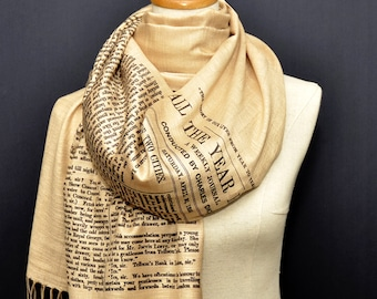 A Tale of Two Cities Shawl Scarf Wrap