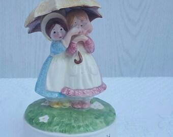 Vintage HOLLY HOBBIE Musical figurine