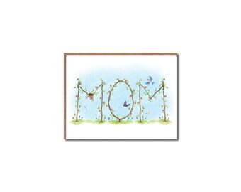 Mom Vine Notecards - Mother's Day cards - Garden Vine Stationery