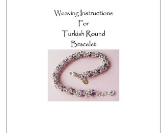 PDF Instructions For The Turkish Round Chainmaille Weave