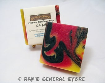 Gobi Gold Scented Premium Handmade Soap - Free Shipping