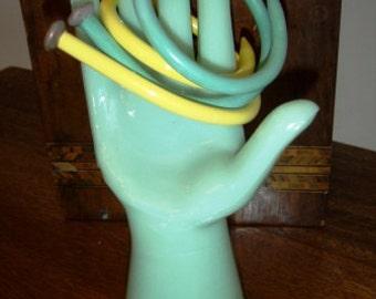 handmade bangles ... VINTAGE KNITTING needle BRACELET Bangles item19 ...