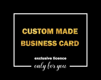Custom Made Business Cards, Exclusive Business Cards Design,  Branding, Stationary, Branding